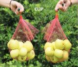 プラスチック純袋のフルーツのVegatableの網袋