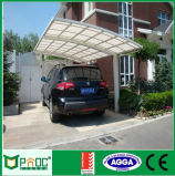 Carport di alluminio del blocco per grafici dell'installazione facile di DIY con il tetto curvo