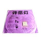 Flying papier Chinois Sky lanterne, 1 pièce, violet