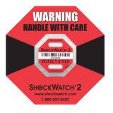 Hot choc Shockwatch G Indicateur du capteur de choc de package