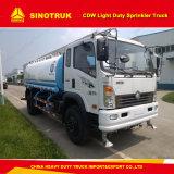 La serie p de Sinotruck Cdw 4000-500090 litros de agua de camiones de rociadores