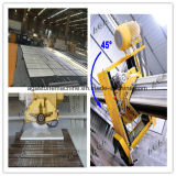 Máquina Hq700 das partes superiores contrárias do mármore do granito da estaca da ponte do CNC