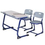 Hy-0429K 학생을%s 싼 참나무 두 배 시트 학교 책상