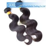 Cheveux humains d'onde de corps d'Indien de 100%