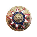 Hersteller-China-preiswerte Medaillen-Goldmünzen