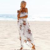 Frauen-Form WegSchulter Strand-Kleid für Feiertag