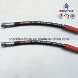 China-Hersteller-hydraulischer Gummischlauch (SAE100 R2)