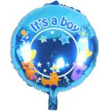 Parte de alimentação para bebé Folha Chuveiro decoração com balão