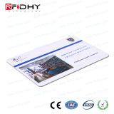 Le billet fait sur commande de papier d'IDENTIFICATION RF de logo pour identifient l'identification