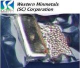 Indium des hohen Reinheitsgrad-99.999% - 99.99999% an der westlichen Korporation MINMETALS-(Sc)