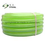 Le PVC souple élastique coloré Anti-Torsion renforcé le flexible de jardin