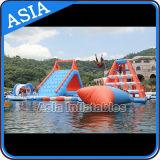 Парк воды большой потехи гигантский раздувной, раздувной парк Aqua для малышей и взрослые