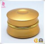 包装のための空の金の容器の結め換え品のクリームの装飾的な瓶