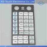 Panel de control de la maquinaria Textured del LED
