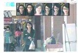 Reconhecimento de faces com infravermelhos câmara CCTV IP HD