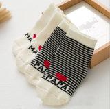 Alti calzini svegli del bambino di inverno del cotone 3D Humpty Dumpty del ginocchio organico su ordinazione appena nato nuovi