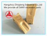 Sanyの掘削機はSanyの掘削機のオリジナルの部品のためのバケツの歯を分ける