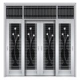 Puerta exterior popular del acero inoxidable del doble de la seguridad con alta calidad