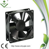 Ventilador axial do refrigerador do rolamento de esferas IP67 do ventilador 80X80X25 de Shenzhen Xinyujie mini