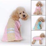 Горячая продажа плащ мода куртка одежды дешевые собака собаки Щенки плащи пальто повседневный водонепроницаемый 4 цветов