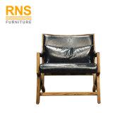 D340 Vente en gros foyer imitation bois Chaise longue