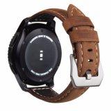 Cinta de relógio grossa do couro genuíno do estilo italiano para o clássico/fronteira da engrenagem S3 de Samsung