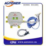 Système électrostatique de Grouding de véhicule de pétrole pour le dép40t de pétrole
