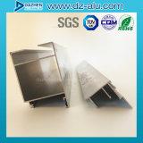 Profil en aluminium en aluminium du Libéria pour le produit de porte de guichet