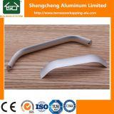 Maniglia di portello di alluminio della serratura quadrata dell'asta cilindrica delle maniglie di finestra della stoffa per tendine