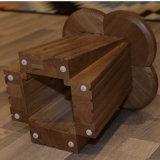 Café de madera maciza Lágrima Silla para muebles de hogar vida CH-617