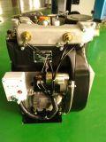 O ar refrigerou o motor duplo Turbocharged sobrecarregado do motor Diesel do cilindro do gêmeo 2 com alta velocidade para o gerador de potência Twdt292f da bomba de água 21kw 28.5HP 3600rpm