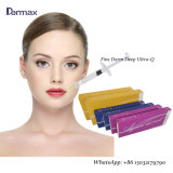Meilleure qualité de l'acide hyaluronique 2 ml de remplissage d'injection par voie cutanée pour le serrage de la peau