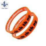 Wristband su ordinazione del silicone del breve del campione di tempo di modo braccialetto di festival