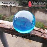 Dsjuggling 70mm Azul acrílico Póngase en contacto con la magia de bola de malabarismo, Aqua, el azul claro azul oscuro