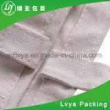 Saco 100% orgânico reusável amigável personalizado da lona do algodão de Eco do punho longo relativo à promoção