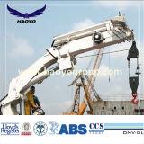 De hydraulische Vouwbare Kraan van het Schip van de Haven van de Boom van het Gewricht