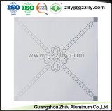 600*600 azulejos de techo acústico de aluminio para materiales de construcción