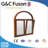 G&C Fusonのブランドの粉のコーティングのアルミニウム開き窓のWindows