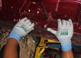 Résistant aux coupures anti Vibrasion tricoté gant de travail de la sécurité (CE) Niveau de coupe 5