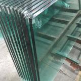 10mm 12mm ontruimen Aangemaakt Glas voor Verdeling en Traliewerk