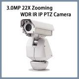 Camera van de Veiligheid PTZ van kabeltelevisie van het toezicht 3.0MP 22X WDR IP de Openlucht