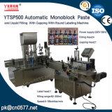 Etichettatrice di coperchiamento di riempimento di Ytsp500 Monoblock per le estetiche