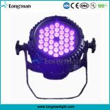 Indicatore luminoso nero UV impermeabile esterno di 36PCS 3W LED per il paesaggio