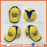 Kundenspezifische Firmenzeichen-Baumwolle druckte eingebrannte Baseballmützen