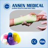 Het medische Verband van Korea van Verbruiksgoederen 2 Duim aan de Kleurrijke Ortho Gietende Band van 6 Duim