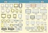 Inarcamento registrabile del metallo del blocco per grafici del quadrato in lega di zinco del regolatore per la borsa