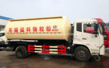Dongfeng 4X2 반토 분말 유조선 트럭 15 톤 분말 수송