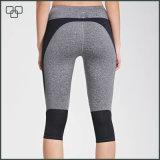 新しいデザインスポーツのCapriのズボンの女性は適性の摩耗を卸し売りする