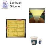Muffe di pietra flessibili dell'impiallacciatura di Lianhuan che fanno la gomma di silicone RTV-2