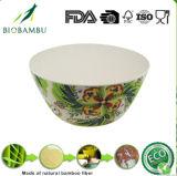 (BC-B1044) Chaud-Vendre le jeu en bambou normal de cuvette de vaisselle de fibre